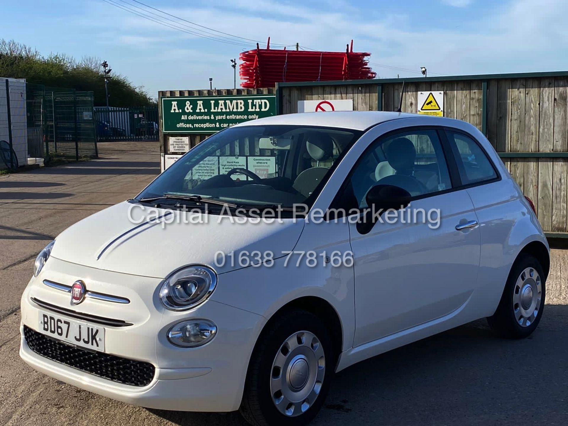 "(On Sale) FIAT 500 ""POP"" 1 OWNER (2018 MODEL) ONLY 30,000 MILES FSH - CRUISE - ELEC PACK - Image 4 of 23"