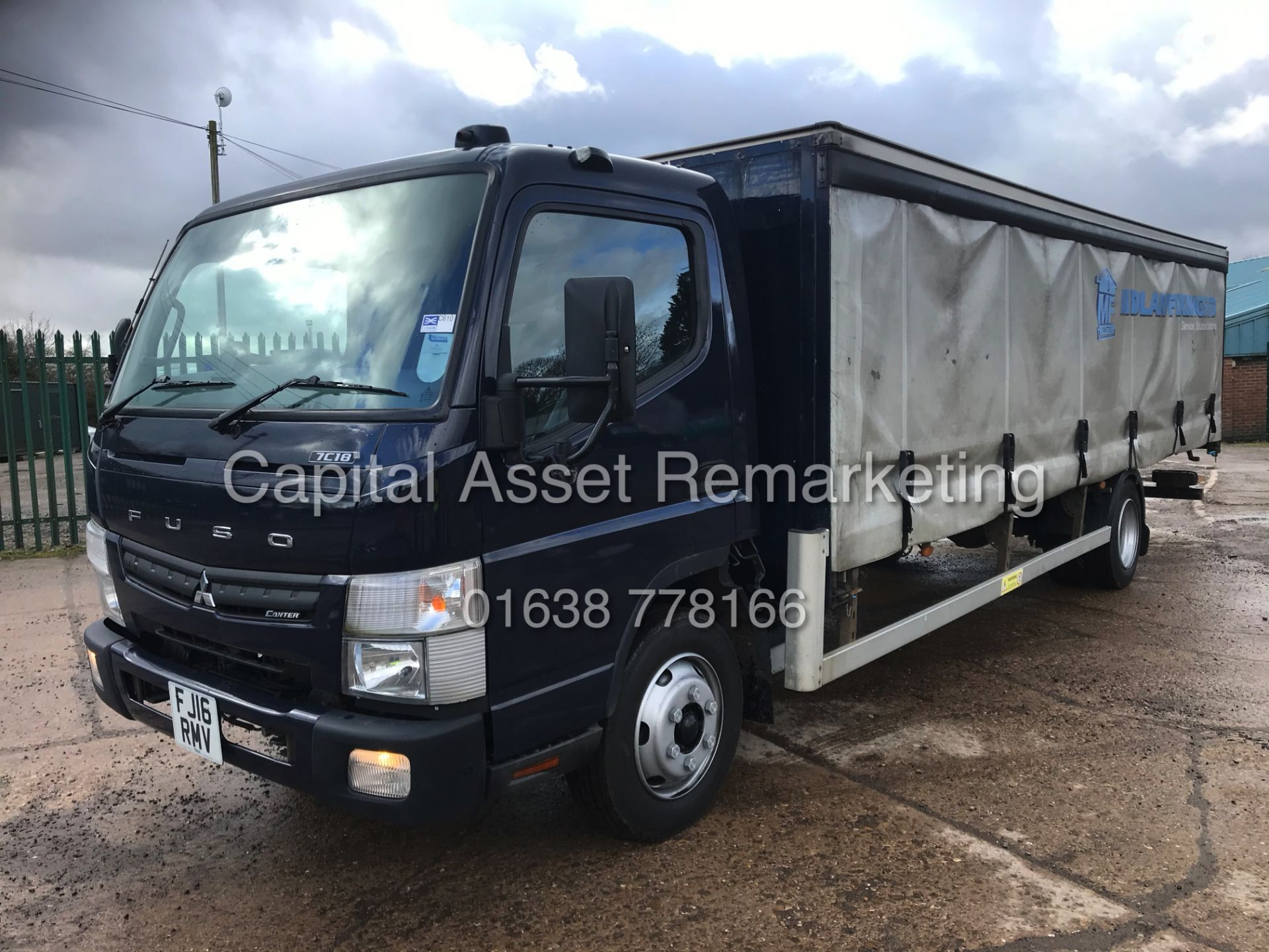 (ON SALE) MITSUBISHI FUSO CANTER 7C18 (16 REG) 1 OWNER *EURO 6* AD-BLUE - 4 WAY CAMERA SYSTEM - Image 3 of 20