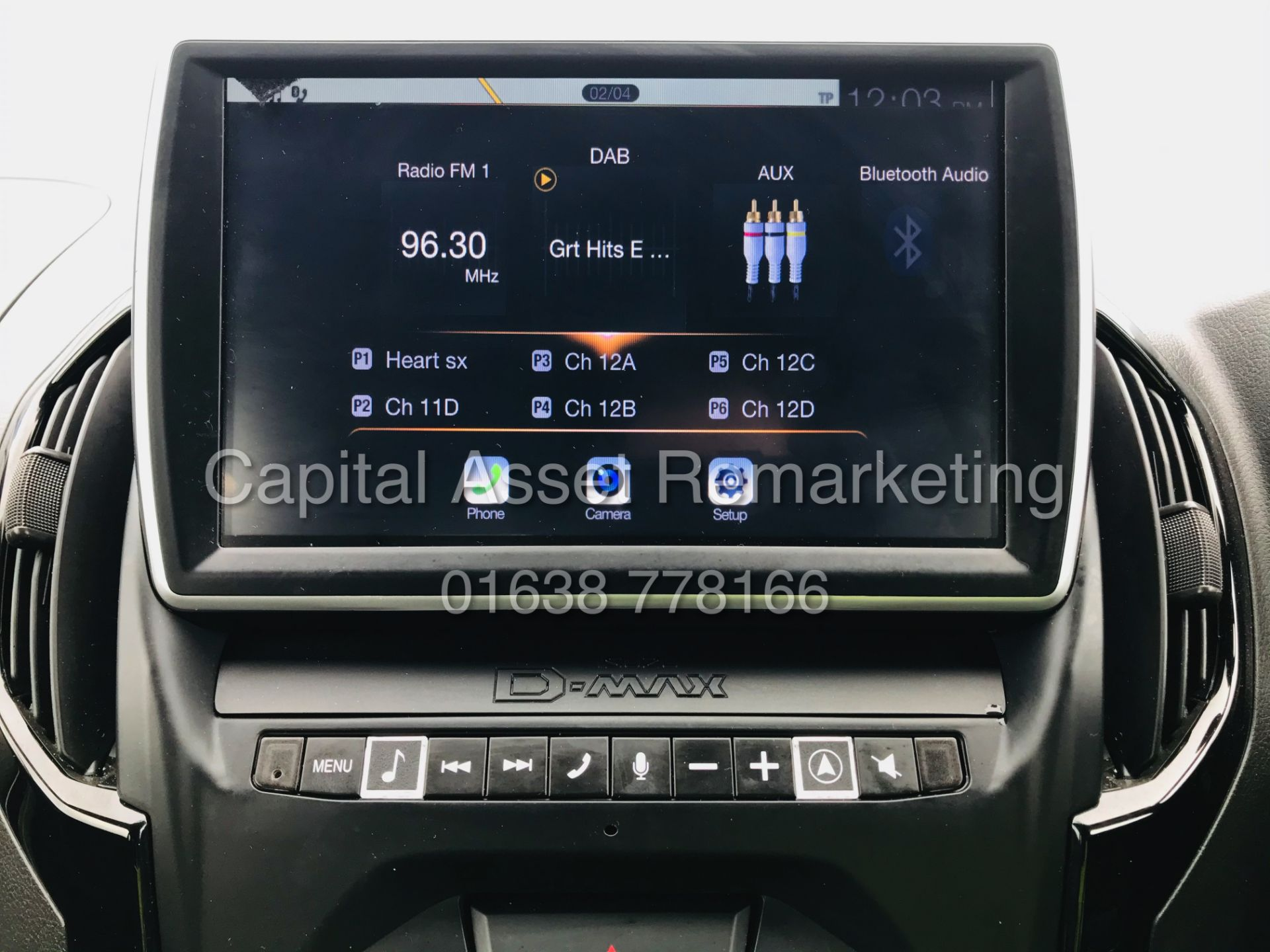"(On Sale) ISUZU D-MAX ""BLADE"" AUTO - 1 OWNER (2019 - EURO 6) LEATHER - SAT NAV *TOP SPEC* - Image 28 of 34"