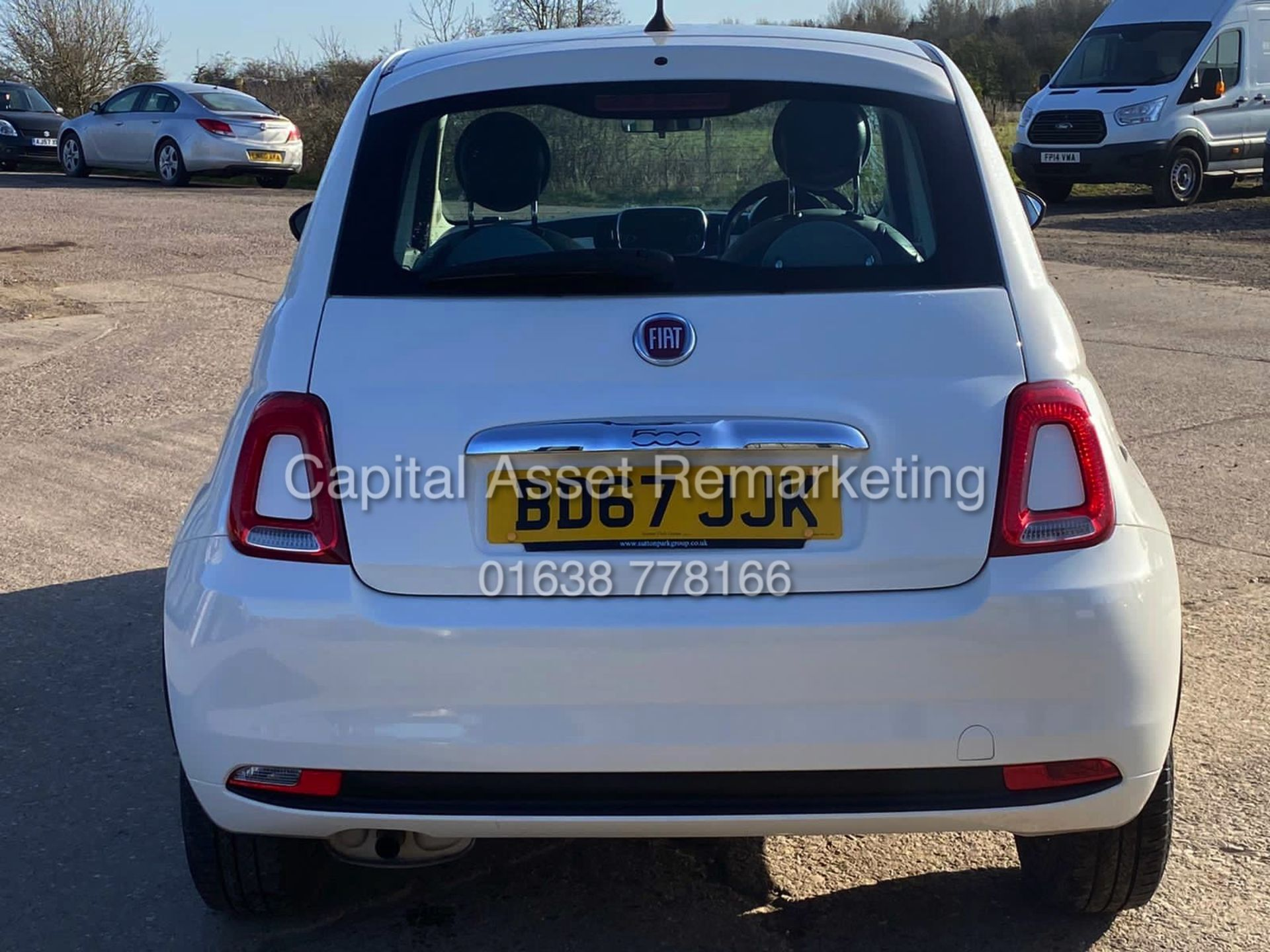 "(On Sale) FIAT 500 ""POP"" 1 OWNER (2018 MODEL) ONLY 30,000 MILES FSH - CRUISE - ELEC PACK - Image 7 of 23"