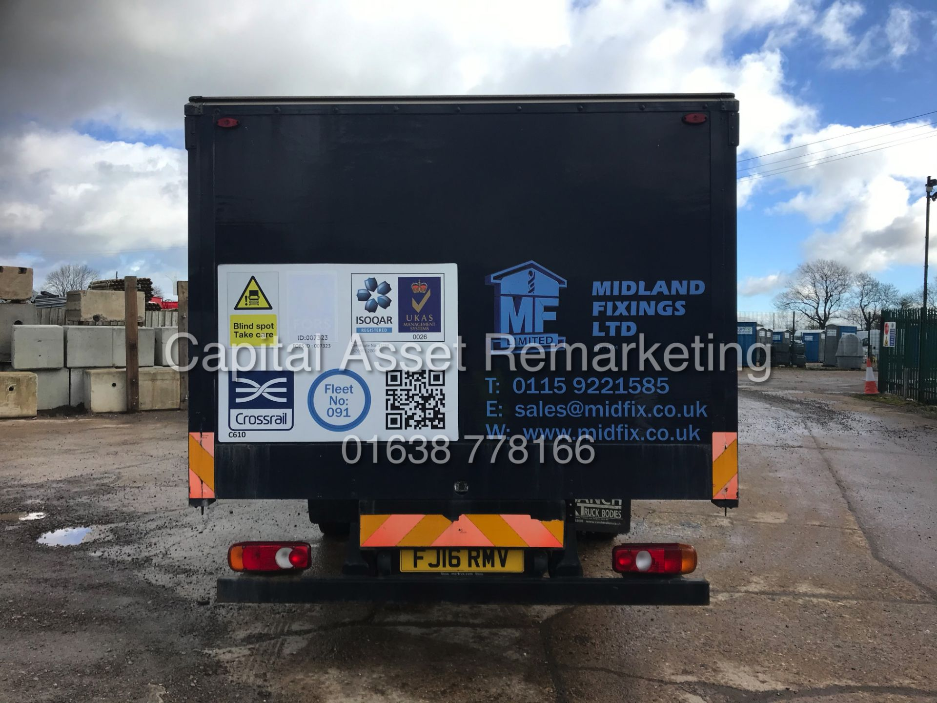 (ON SALE) MITSUBISHI FUSO CANTER 7C18 (16 REG) 1 OWNER *EURO 6* AD-BLUE - 4 WAY CAMERA SYSTEM - Image 9 of 20