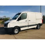 ON SALE VW CRAFTER 2.0TDI CR35 (15 REG) 1 OWNER - CRUISE - ELEC PACK - MULTIFUNCTION STEERING WHEEL