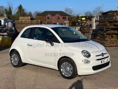 """(On Sale) FIAT 500 """"POP"""" 1 OWNER (2018 MODEL) ONLY 30,000 MILES FSH - CRUISE - ELEC PACK"""