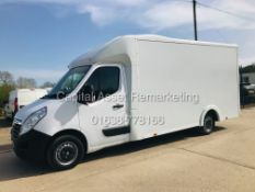 """ON SALE VAUXHALL MOVANO 2.3CDTI """"LOW-LOADER""""14FT LUTON BODY (2019 MODEL) 1 OWNER *AIR CON*-ELEC PACK"""