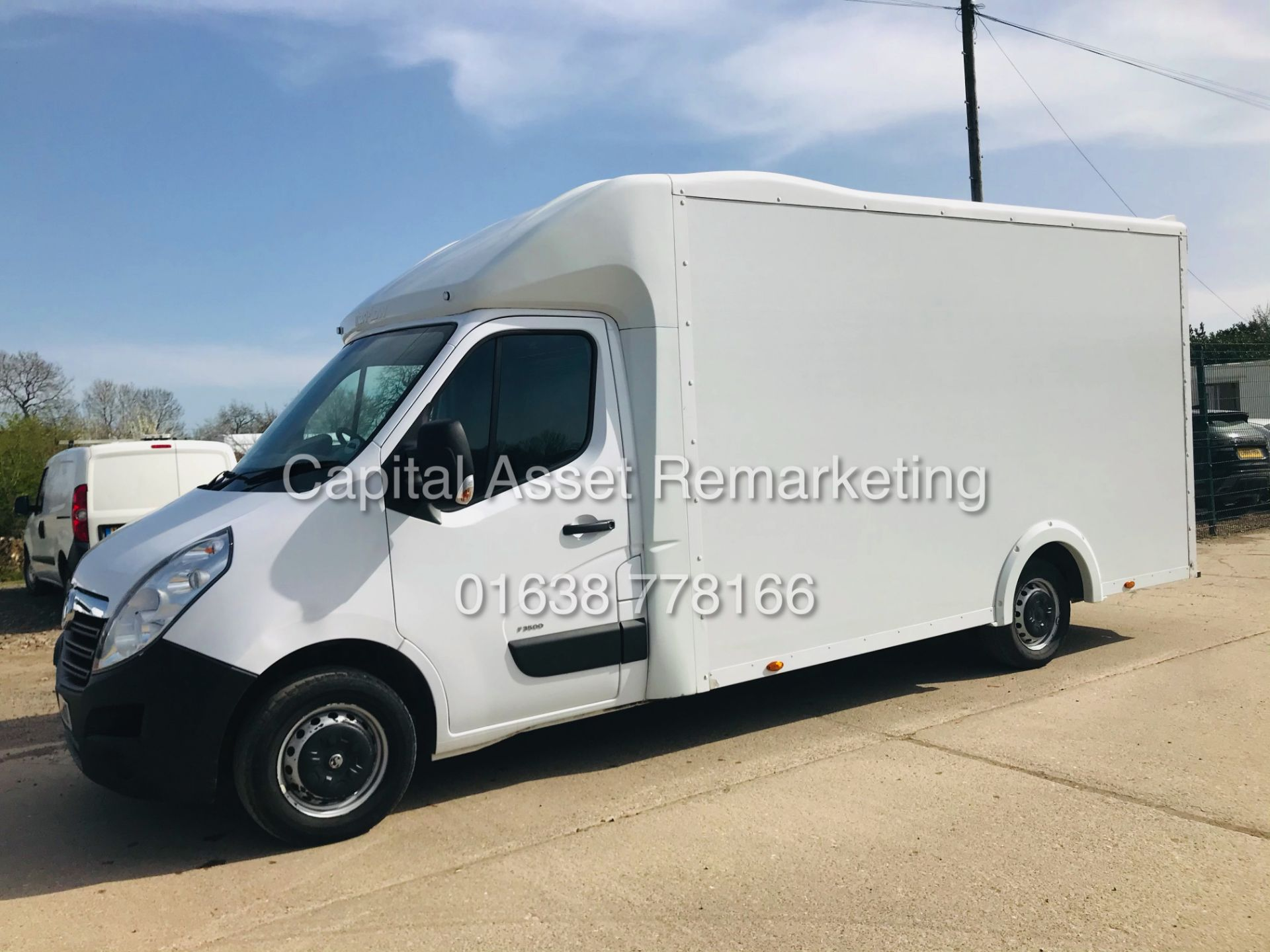 "ON SALE VAUXHALL MOVANO 2.3CDTI ""LOW-LOADER""14FT LUTON BODY (2019 MODEL) 1 OWNER *AIR CON*-ELEC PACK"