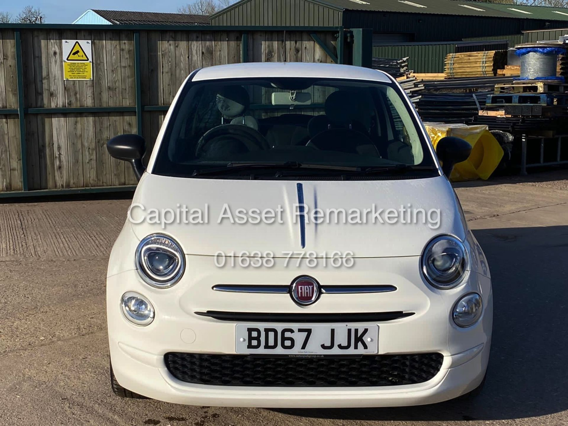 "(On Sale) FIAT 500 ""POP"" 1 OWNER (2018 MODEL) ONLY 30,000 MILES FSH - CRUISE - ELEC PACK - Image 3 of 23"