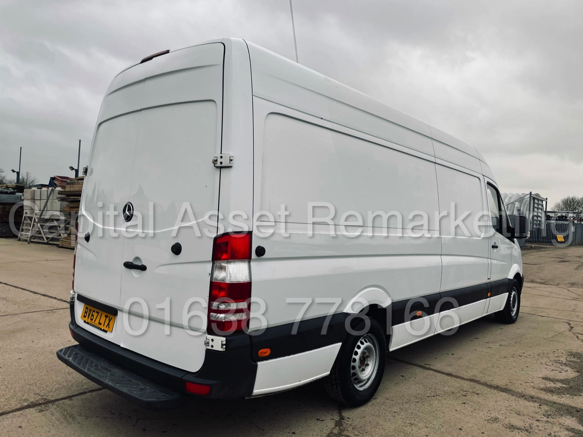 (On Sale) MERCEDES-BENZ SPRINTER 314 CDI *LWB HI-ROOF* (67 REG - EURO 6) '140 BHP-6 SPEED' (1 OWNER) - Image 12 of 37