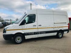 (ON SALE) VOLKSWAGEN CRAFTER 2.0 TDI BLUE-MOTION MWB (17 REG) 1 OWNER *AIR CON* ELEC PACK - CRUISE