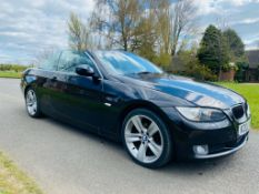 """ON SALE BMW 320D """"SPECIAL EDITION / HIGHLINE"""" *CONVERTIBLE* (2010 MODEL) LEATHER -ELEC ROOF *NO VAT*"""