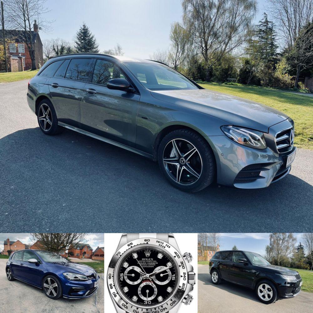 2020 Mercedes-Benz E300de *AMG Estate* -2020 Range Rover Evoque *R-Dynamic* - 2018 Range Rover Sport *HSE* + Many: Cars, Commercials & 4x4's !!!