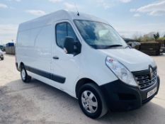 """ON SALE RENAULT MASTER MM35 BUSINESS + 2.3DCI (130) EURO 6 """"ULEZ COMPLIANT""""MWB- 2017 MODEL - AIR CON"""