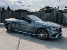 MERCEDES-BENZ E220d *AMG LINE - PREMIUM PLUS* CABRIOLET *4-MATIC* (2020 MODEL) **TOP OF THE RANGE**