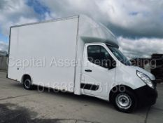 RENAULT MASTER *LWB - LOW LOADER / LUTON BOX VAN* (2018 - EURO 6) '2.3 DCI -140 BHP - 6 SPEED' *A/C*
