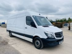 """MERCEDES SPRINTER 314CDI """"LWB"""" HIGH ROOF WITH FULL ELECTRIC TAIL-LIFT - 2018 MODEL - 1 OWNER - FSH"""
