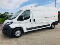 """PEUGEOT BOXER 2.0'HDI"""" PROFESIONAL - LWB HIGH ROOF - 18 REG - ONLY 78K - 1 OWNER - AIR CON - EURO 6"""