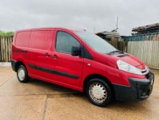 (On Sale) CITROEN DISPATCH '1000 2.0 HDI' 125 H1 (2013 MODEL) *PLY LINING* NO VAT SAVE 20% !!!