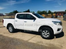 NISSAN NAVARA 2.3CDI DOUBLE CAB PICK UP (18 REG) 1 KEEPER - ONLY 49K MILES - AIR CON - GREAT SPEC
