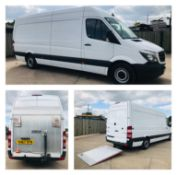 MERCEDES SPRINTER 314CDI LWB (2018 MODEL) WITH FITTED TAIL LIFT - 1 OWNER FSH - CRUISE *RARE*
