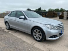 """MERCEDES C220 CDI """"BLUE EFFICIENCY"""" AUTO SPECIAL EQUIPMENT SALOON - 2012 MODEL - LOW MILES - LEATHER"""