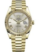 ROLEX DAY-DATE 40MM *18ct YELLOW GOLD* (2021 - BRAND NEW) *ROMAN NUMERAL DIAL* (GREAT INVESTMENT)