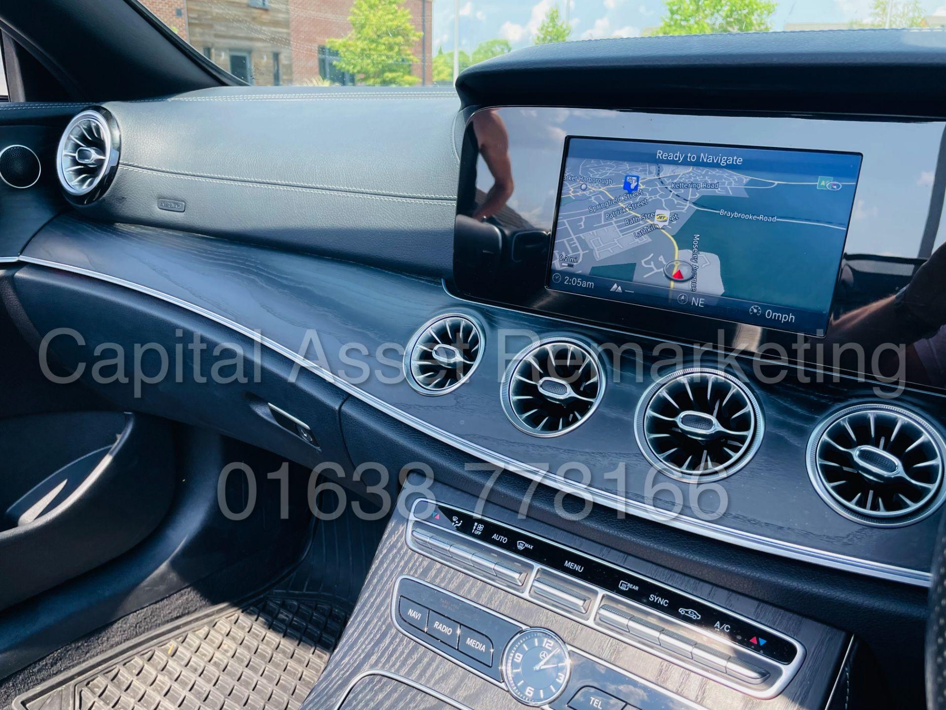 MERCEDES-BENZ E220d *AMG LINE PREMIUM - CABRIOLET* (2018 - EURO 6) '9G AUTO - LEATHER - SAT NAV' - Image 54 of 63