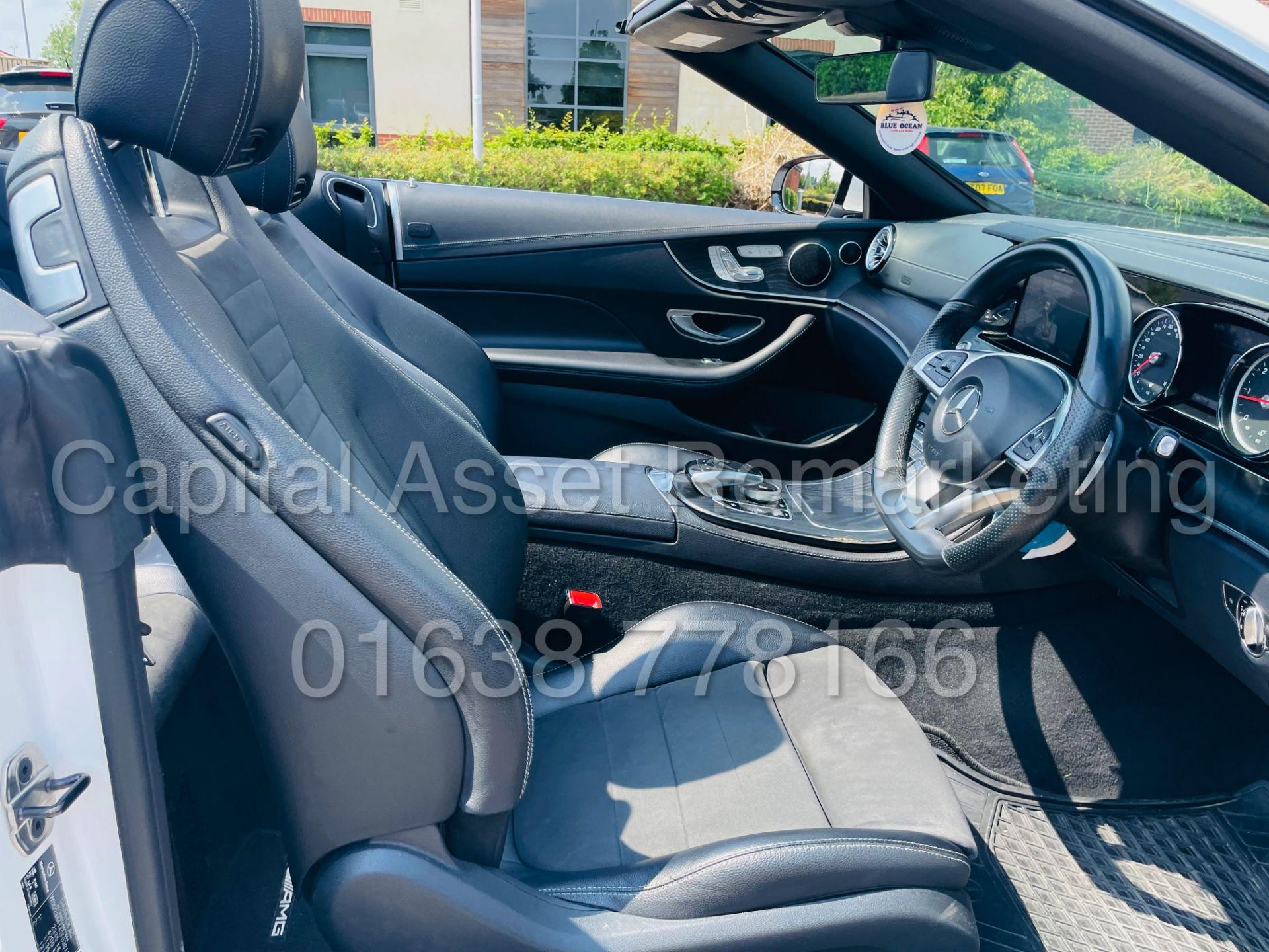 MERCEDES-BENZ E220d *AMG LINE PREMIUM - CABRIOLET* (2018 - EURO 6) '9G AUTO - LEATHER - SAT NAV' - Image 48 of 63