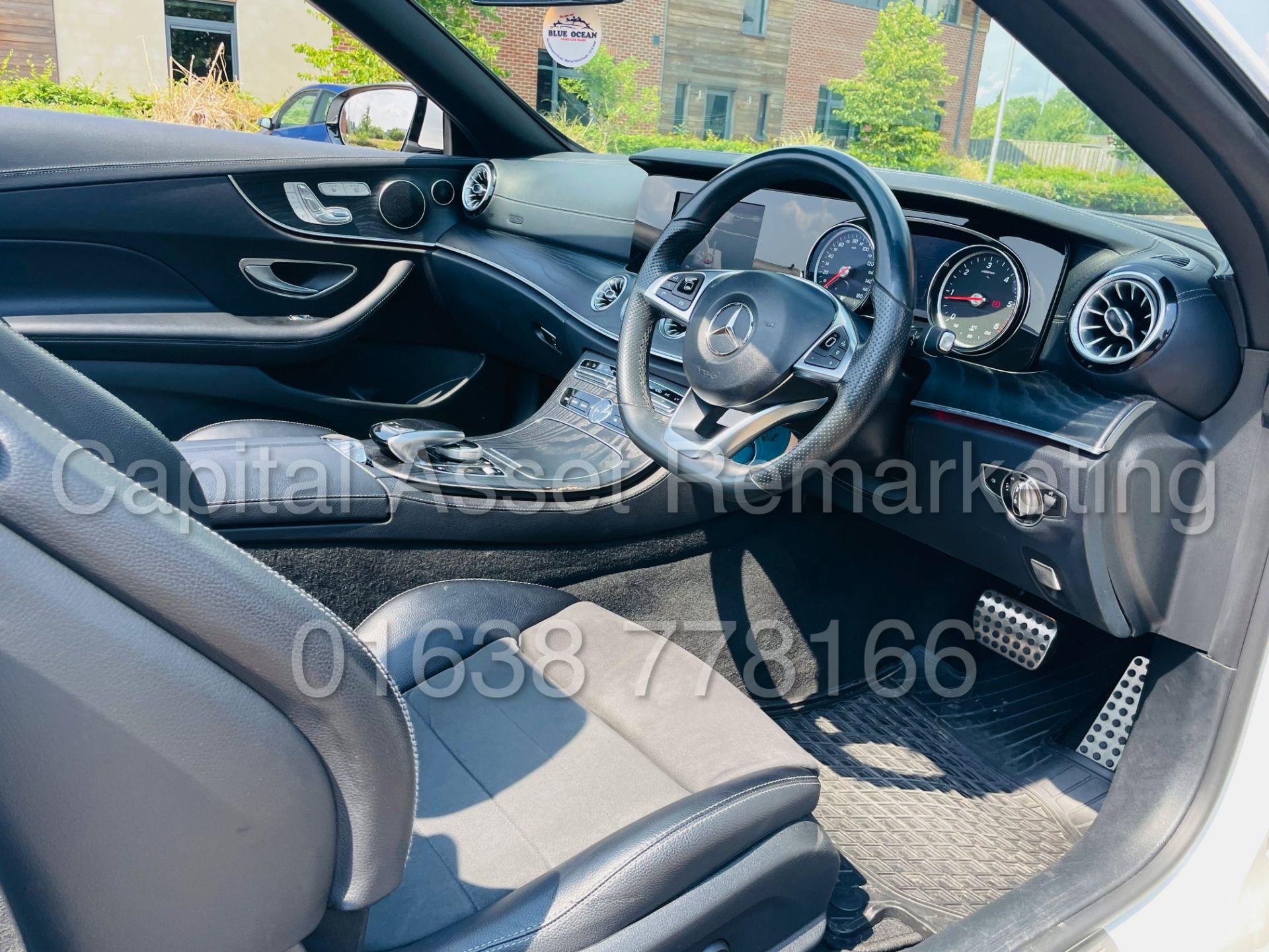 MERCEDES-BENZ E220d *AMG LINE PREMIUM - CABRIOLET* (2018 - EURO 6) '9G AUTO - LEATHER - SAT NAV' - Image 49 of 63