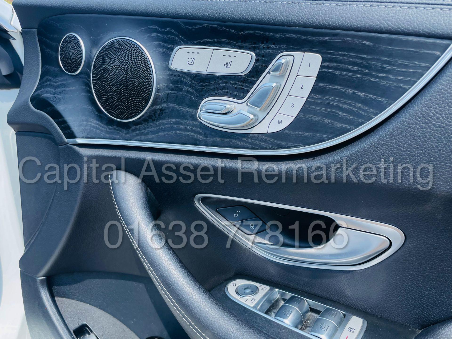 MERCEDES-BENZ E220d *AMG LINE PREMIUM - CABRIOLET* (2018 - EURO 6) '9G AUTO - LEATHER - SAT NAV' - Image 43 of 63