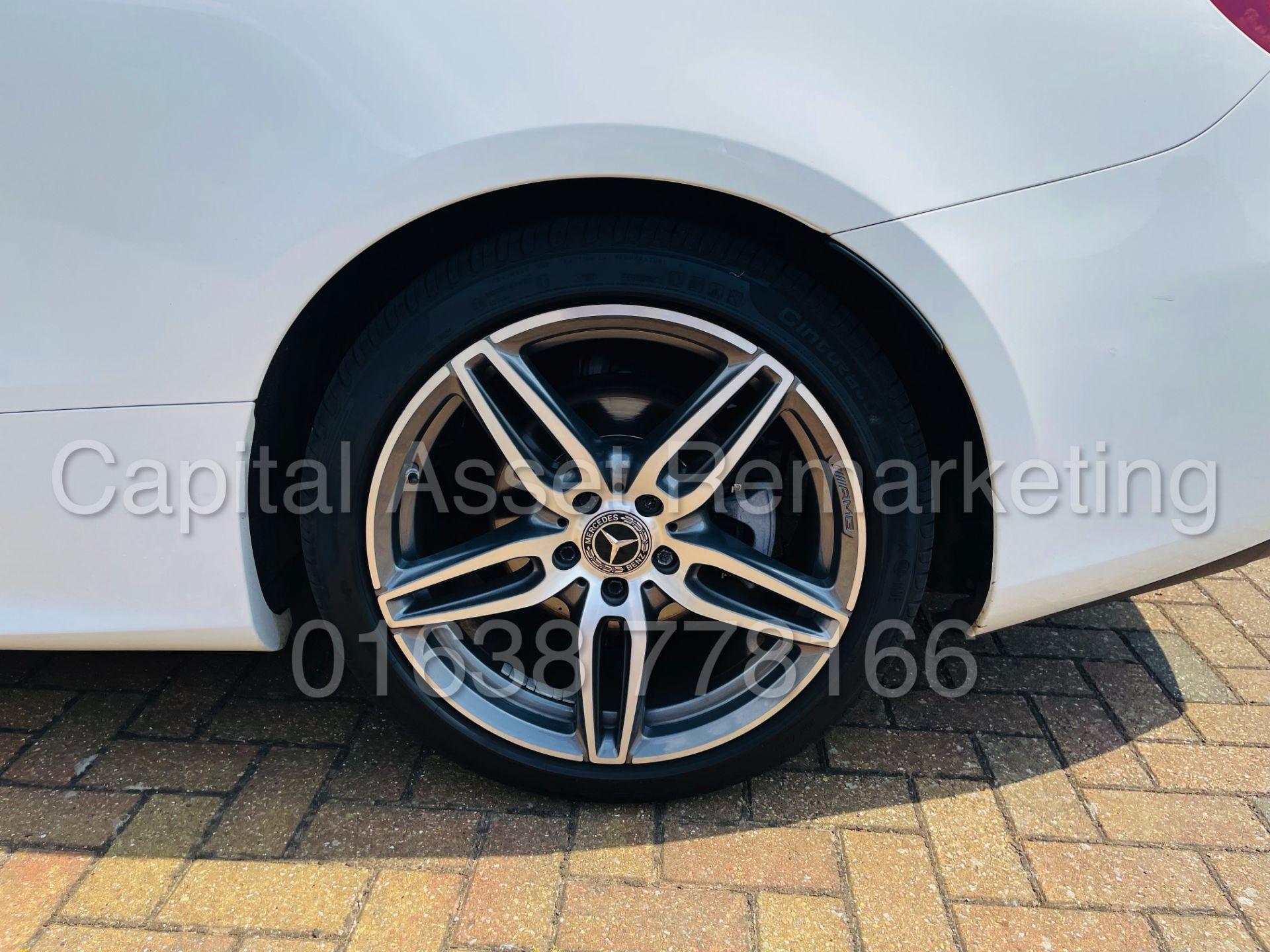 MERCEDES-BENZ E220d *AMG LINE PREMIUM - CABRIOLET* (2018 - EURO 6) '9G AUTO - LEATHER - SAT NAV' - Image 34 of 63
