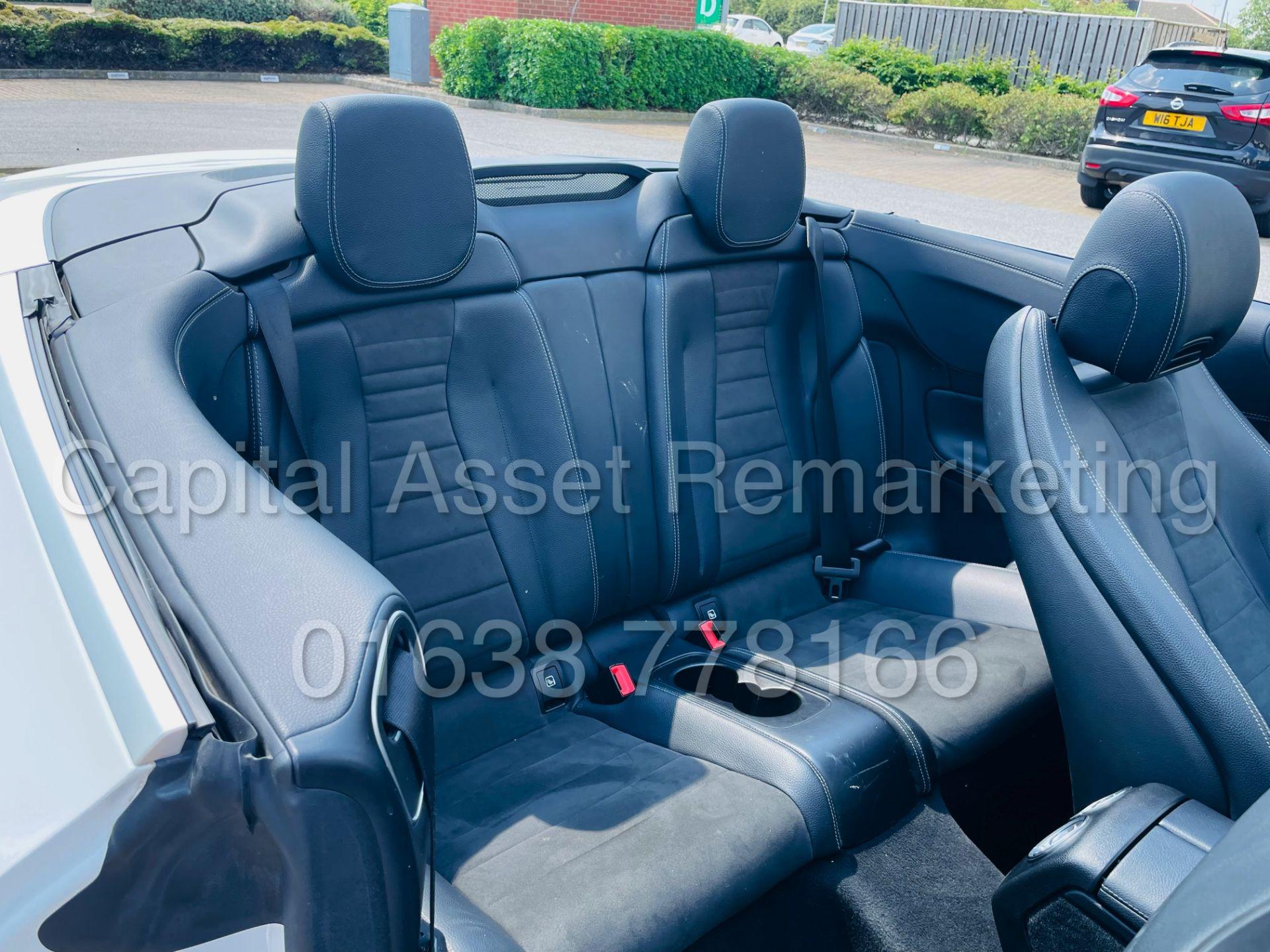MERCEDES-BENZ E220d *AMG LINE PREMIUM - CABRIOLET* (2018 - EURO 6) '9G AUTO - LEATHER - SAT NAV' - Image 44 of 63