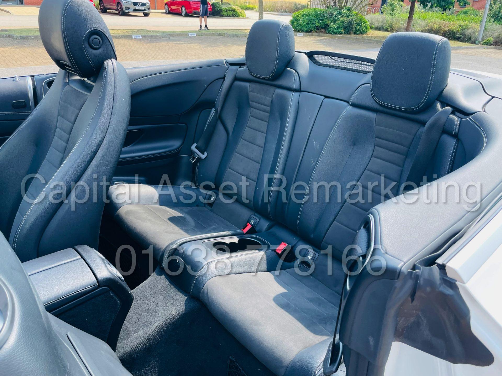 MERCEDES-BENZ E220d *AMG LINE PREMIUM - CABRIOLET* (2018 - EURO 6) '9G AUTO - LEATHER - SAT NAV' - Image 41 of 63
