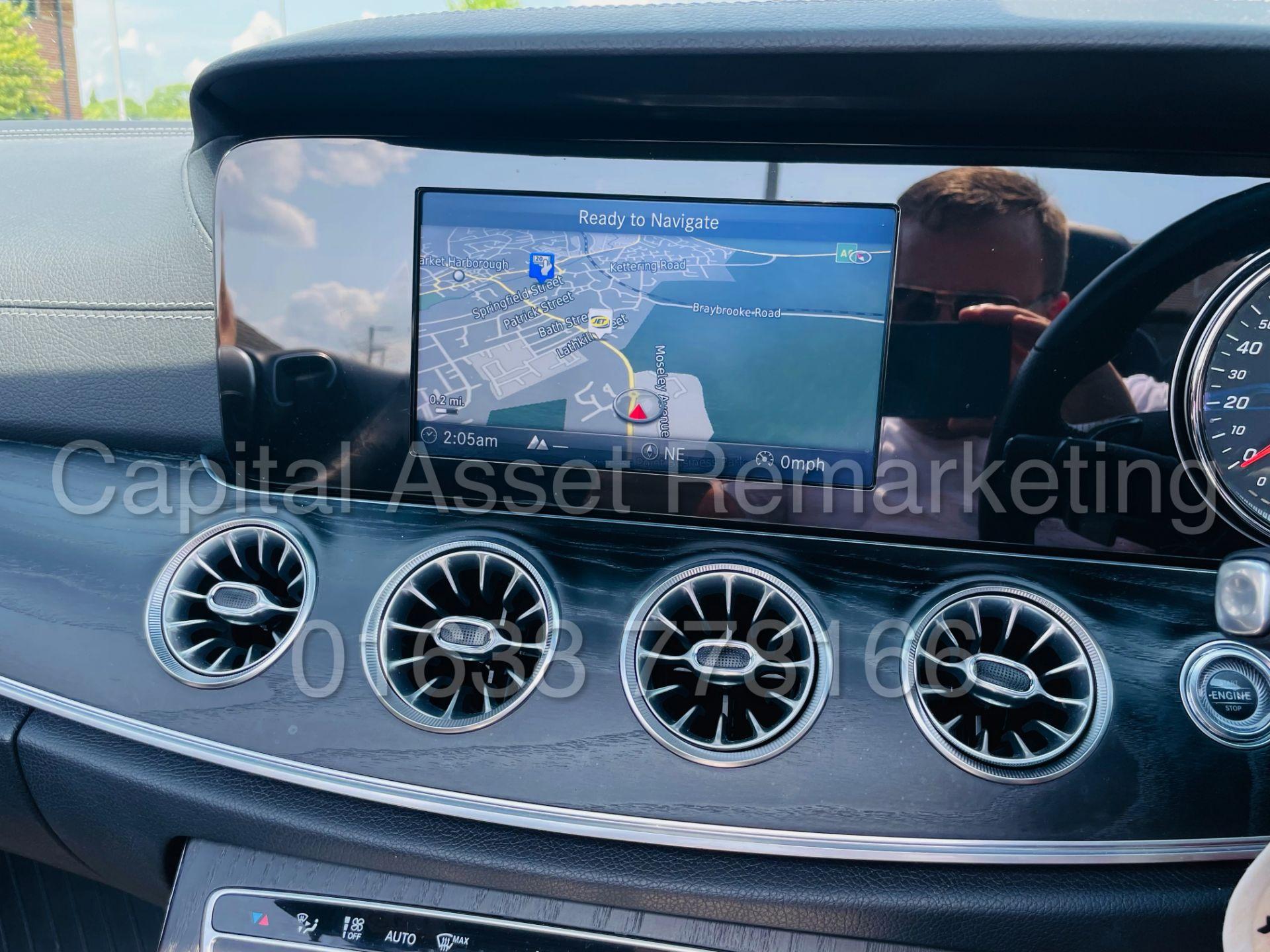 MERCEDES-BENZ E220d *AMG LINE PREMIUM - CABRIOLET* (2018 - EURO 6) '9G AUTO - LEATHER - SAT NAV' - Image 55 of 63