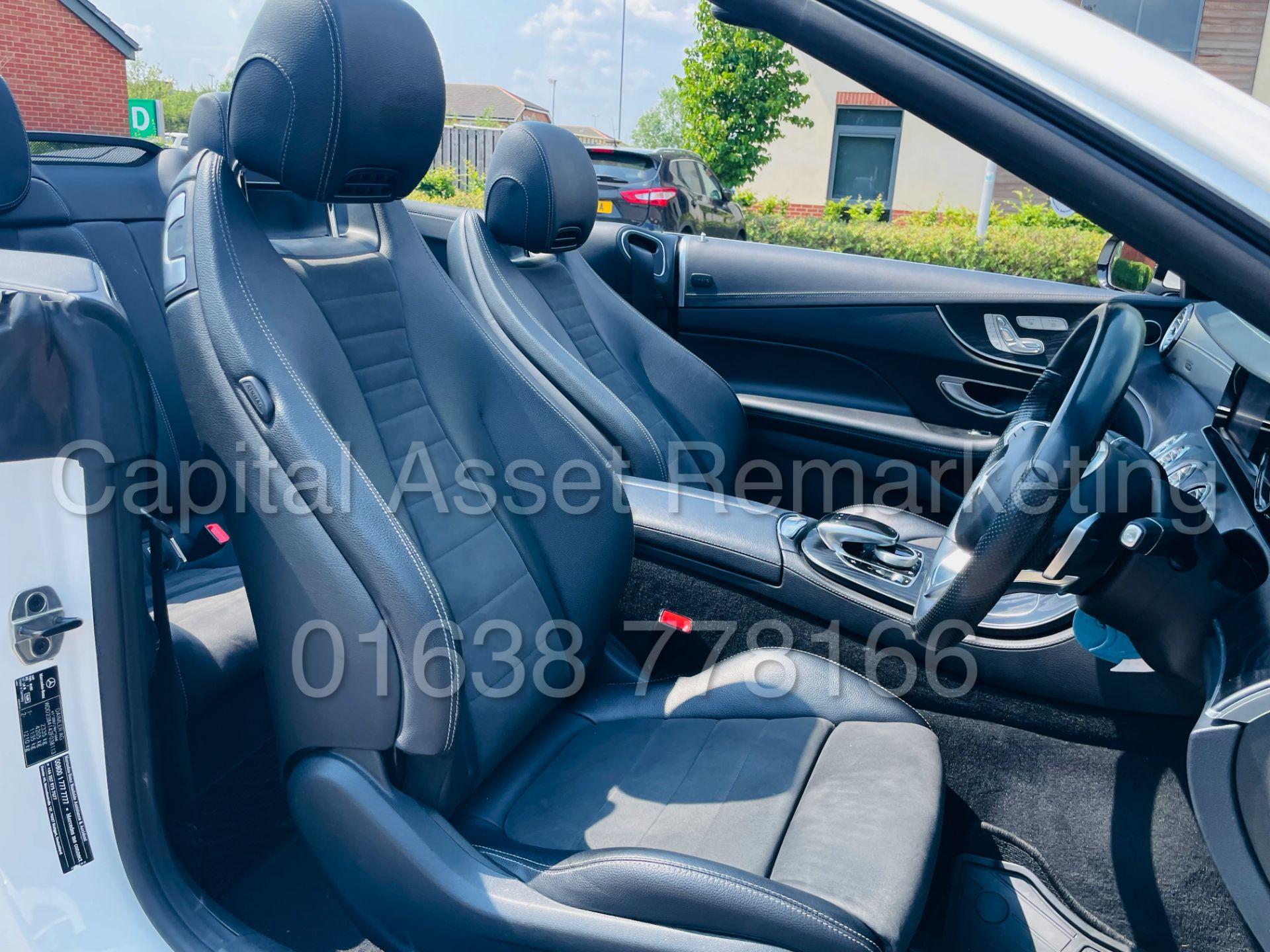 MERCEDES-BENZ E220d *AMG LINE PREMIUM - CABRIOLET* (2018 - EURO 6) '9G AUTO - LEATHER - SAT NAV' - Image 47 of 63
