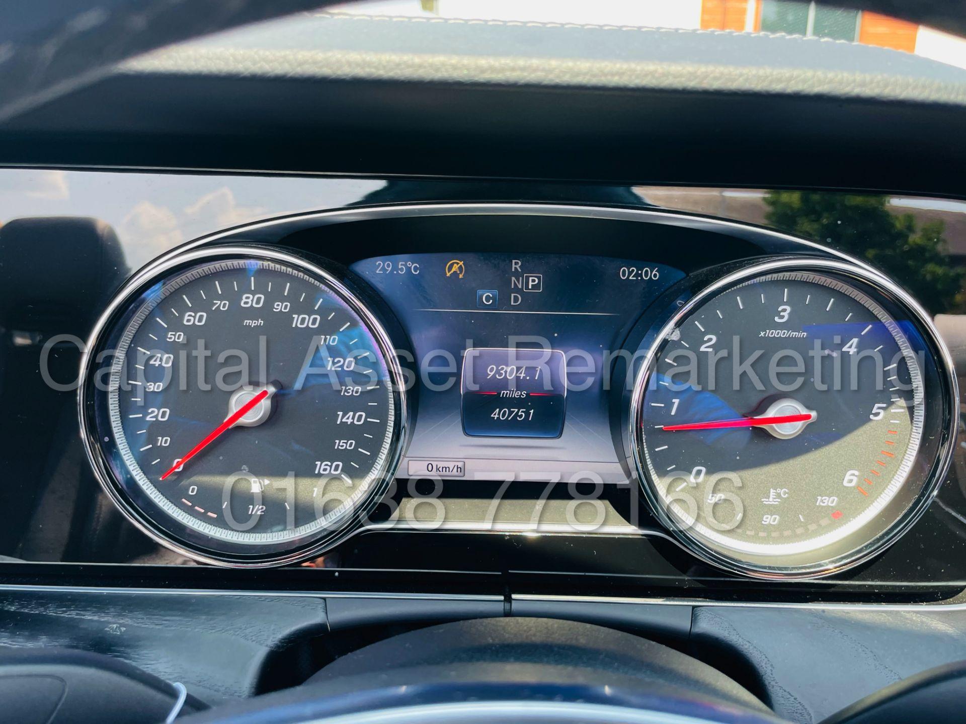 MERCEDES-BENZ E220d *AMG LINE PREMIUM - CABRIOLET* (2018 - EURO 6) '9G AUTO - LEATHER - SAT NAV' - Image 63 of 63