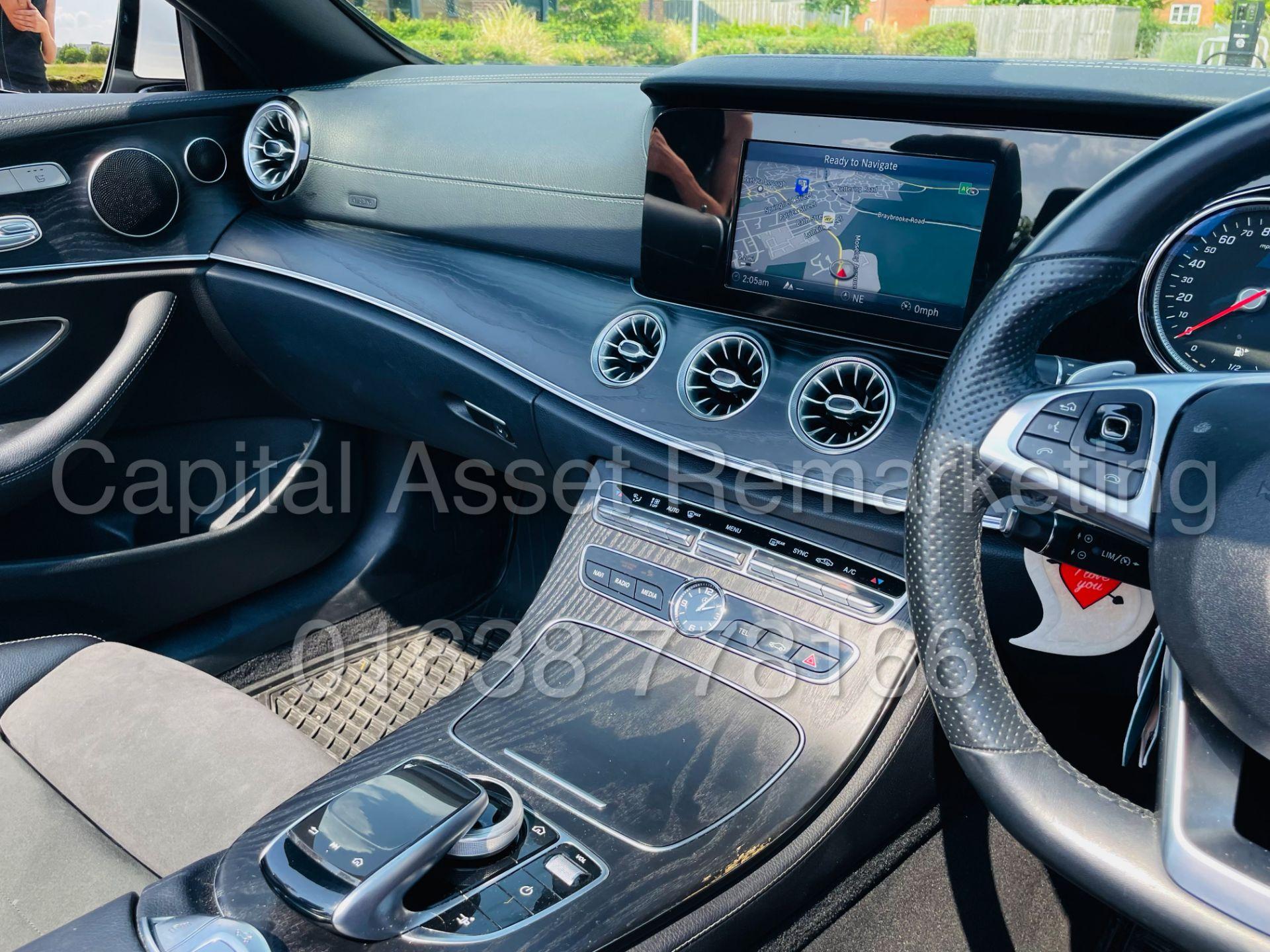 MERCEDES-BENZ E220d *AMG LINE PREMIUM - CABRIOLET* (2018 - EURO 6) '9G AUTO - LEATHER - SAT NAV' - Image 53 of 63