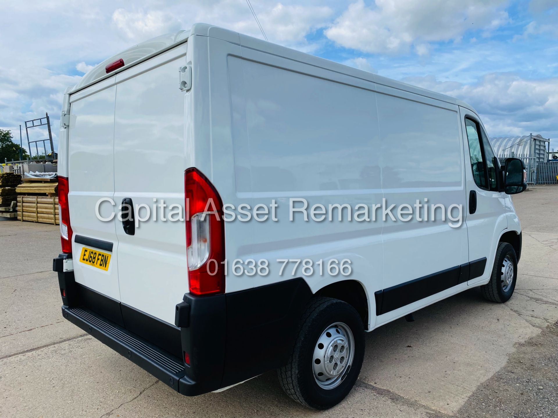 """ON SALE CITROEN RELAY 2.0 BLUE-HDI """"ENTERPRISE"""" L1H1 (2019 MODEL) AIR CON 6882 MILES ON THE CLOCK - Image 9 of 28"""