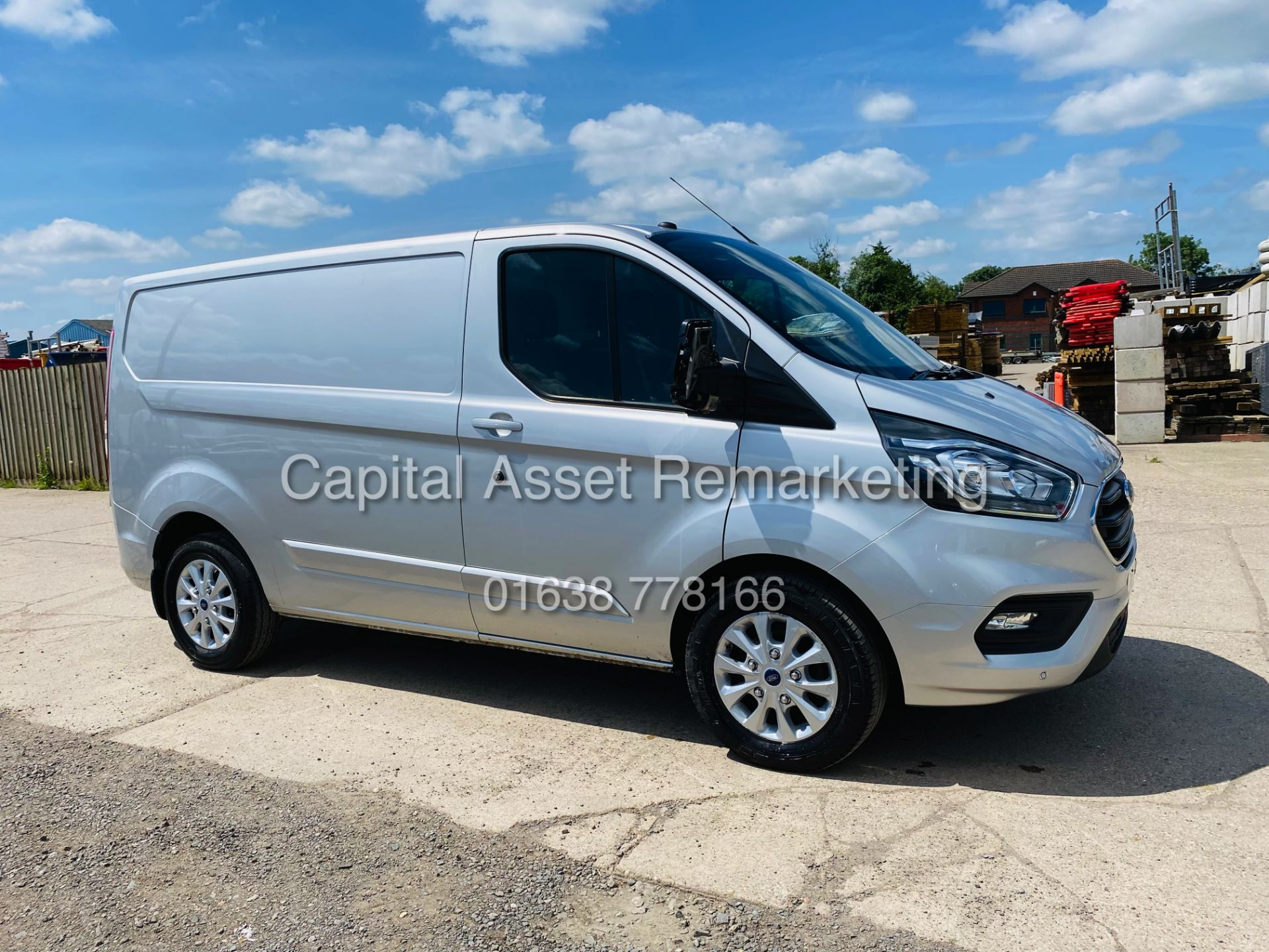 """FORD TRANSIT CUSTOM 2.0TDCI """"LIMITED"""" 300 (19 REG) AIR CON - 1 OWNER - EURO 6 - CRUISE - ELEC PACK - Image 2 of 22"""