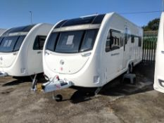 """SWIFT AVENTURA """"SPECIAL EDITION"""" EW WITH FIXED BED - TWIN AXEL - NEW / UNUSED - 6 BERTH - LOOK!!!"""