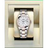 (On Sale) ROLEX OYSTER PERPETUAL *31mm DATEJUST* STEEL/18ct EVEROSE GOLD *MOTHER OF PEARL DIAL*