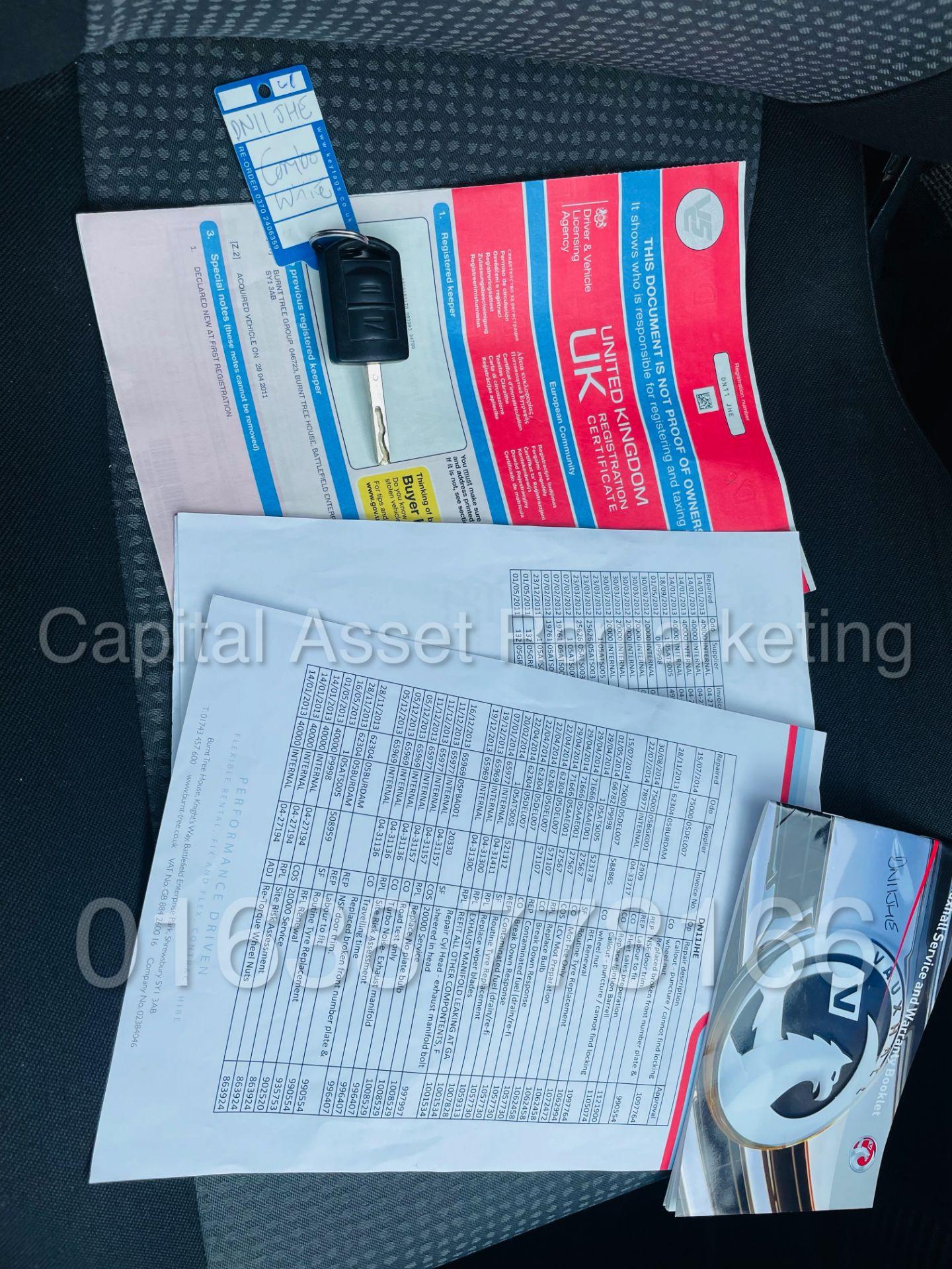 (On Sale) VAUXHALL COMBO CDTI *5 SEATER CREW VAN* (2011 - 11 REG) 'CDTI - 5 SPEED' (1 FORMER KEEPER) - Image 21 of 44