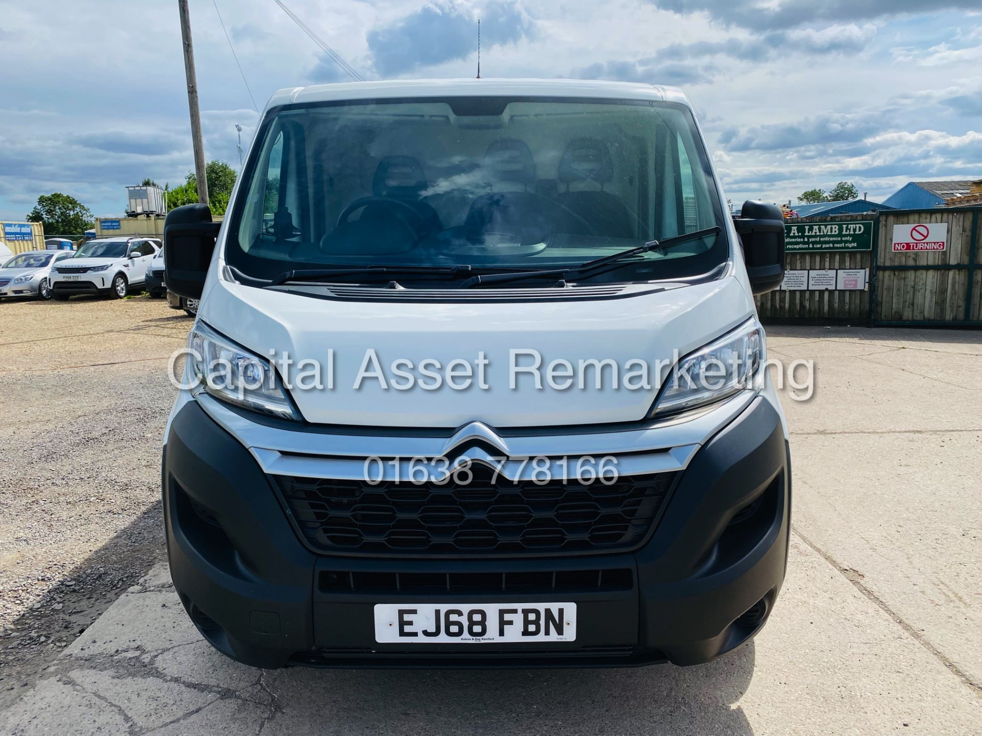 """ON SALE CITROEN RELAY 2.0 BLUE-HDI """"ENTERPRISE"""" L1H1 (2019 MODEL) AIR CON 6882 MILES ON THE CLOCK - Image 4 of 28"""
