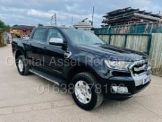 FORD RANGER *LIMITED EDITION* DOUBLE CAB PICK-UP (2017 -EURO 6) 'AUTO - LEATHER' (1 OWNER FROM NEW)