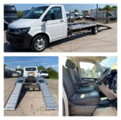 """VOLKSWAGEN TRANSPORTER 2.0TDI """"RECOVERY / TRANSPORTER"""" 1 OWNER *EURO 6* AIR CON - ELEC PACK *RARE*"""