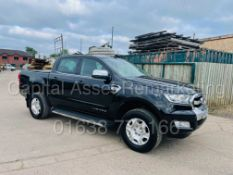 (On Sale) FORD RANGER *LIMITED EDITION* DOUBLE CAB PICK-UP (2017 -EURO 6) 'AUTO - LEATHER' (1 OWNER)