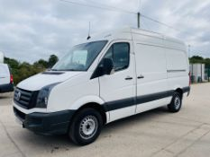 (On Sale) VOLKSWAGEN CRAFTER 2.0TDI (109) MWB HIGH ROOF - (2016 MODEL) 1 KEEPER -ONLY 104K MILES