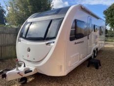 (On Sale) SWIFT AVENTURA Q6EW TWIN AXLE CARAVAN  NEW UNUSED 2021!!!!! Swift Aventura Q6 EW Caravan