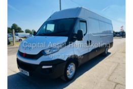 """ON SALE IVECO DAILY 35S13 """"LWB"""" (NEW SHAPE) 16 REG - 1 OWNER - AIR CON - SAT NAV - IDEAL CAMPER!!"""