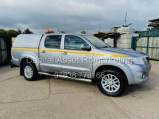 """TOYOTA HILUX 3.0 D-4D """"INVINCIBLE"""" AUTO (2016 MODEL) ONLY 15,000 MILES-SAT NAV-LEATHER-REAR CAMERA"""
