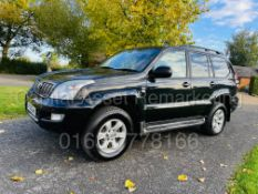 TOYOTA LAND CRUISER *INVINCIBLE* 7 SEATER SUV (2008) '3.0 D-4D - AUTO' *LEATHER & NAV* (1 OWNER)