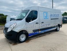 """RENAULT MASTER 2.3DCI ENERGY """"135BHP/6 SPEED"""" L3H2 LWB (2015) BUSINESS + MODEL - AIR CON -LOW MILES!"""